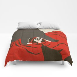 Little Red Riding Hood and the Big Bad Wolf Comforters