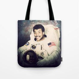 Neil deGrasse Tyson - Astronaut in Space Tote Bag