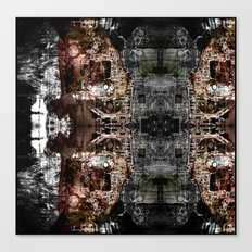 OR/WELL  darkCHIP Canvas Print