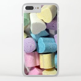 Colorful candies Clear iPhone Case
