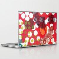 polka dot Laptop & iPad Skins featuring Polka-Dot by Liz Belen