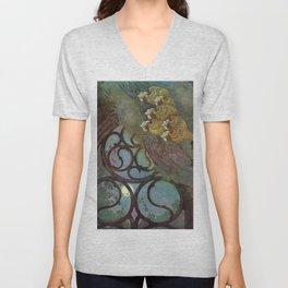 """The Bells"" Fairy Tale Art by Edmund Dulac Unisex V-Neck"