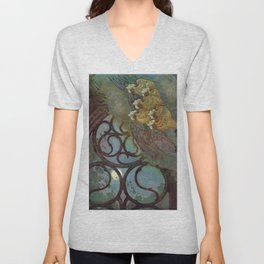 """The Bells"" Fairy Tale Art by Edmund Dulac Unisex V-Neck"