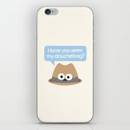 Missing Person iPhone Skin