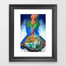 maldivian Framed Art Print