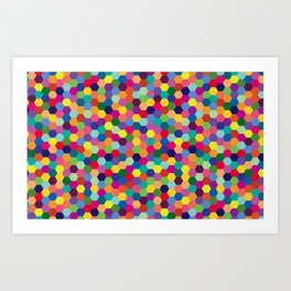 Geometric Pattern #3 Art Print