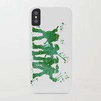 teenage mutant ninja turtles iPhone & iPod Cases featuring Teenage Mutant Ninja Turtles by Carma Zoe