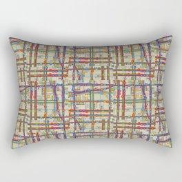 Midtown Plaid XL Rectangular Pillow