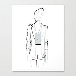 Naiomi Canvas Print