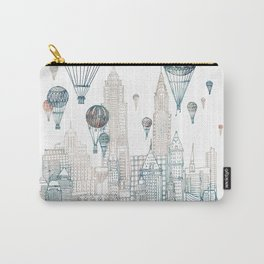 Voyages Over New York ~Refresh Carry-All Pouch