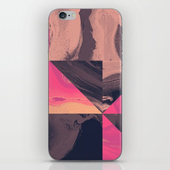 Triangular Magma iPhone & iPod Skin
