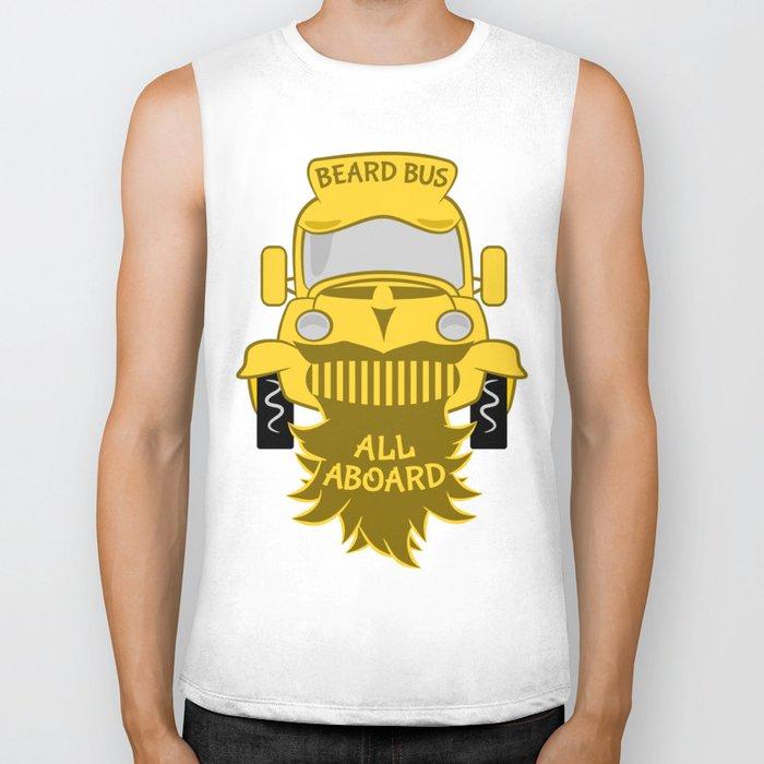 Beard Bus Biker Tank