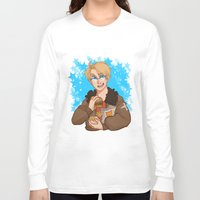 hetalia Long Sleeve T-shirts featuring Stars by kitkatkatee