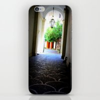 door iPhone & iPod Skins featuring Door by Eva Lesko