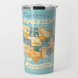 Explore America Travel Mug