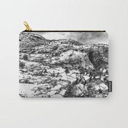 Desert_rocks Carry-All Pouch
