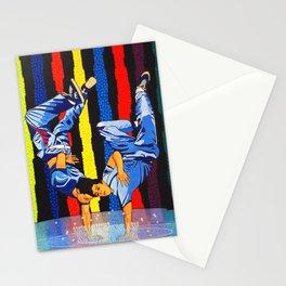 GARO - Twin dance Stationery Cards