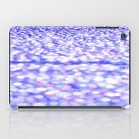 glitter iPad Cases featuring Periwinkle Glitter Sparkle by WhimsyRomance&Fun