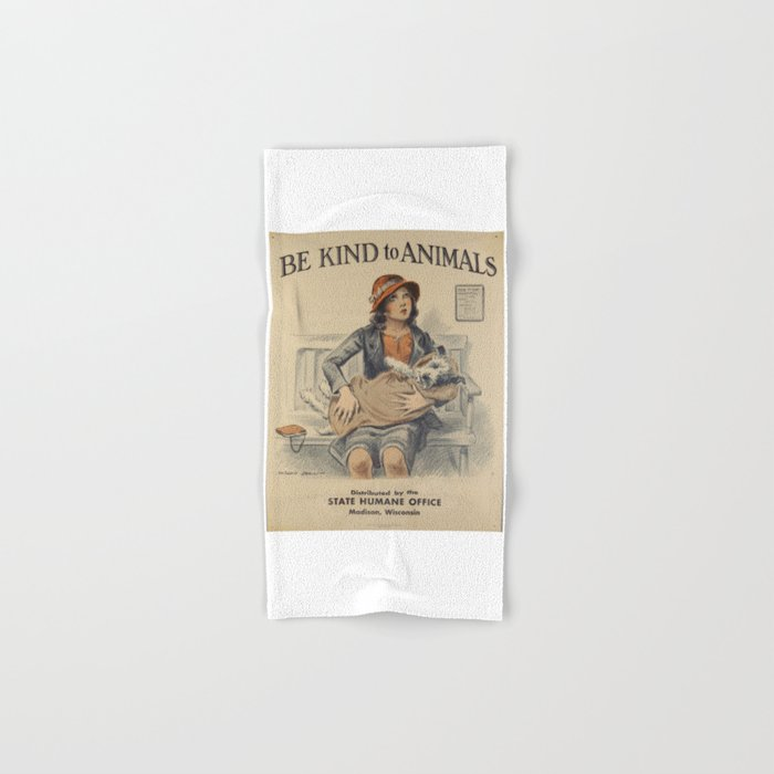 Be Kind To Animals 4 Hand & Bath Towel