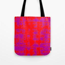 jitter, red violet, 3 Tote Bag