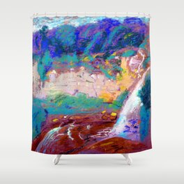 Dwight Williams Chittenga Falls Shower Curtain