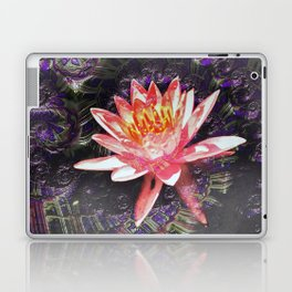 Fractal Lotus Laptop & iPad Skin