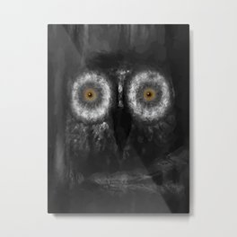 The Owl 5 Metal Print