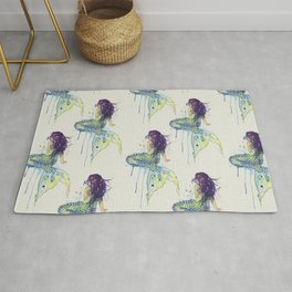 Mermaid - Natural Rug