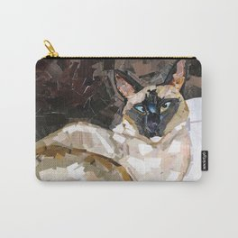 Elvis the Siamese Carry-All Pouch