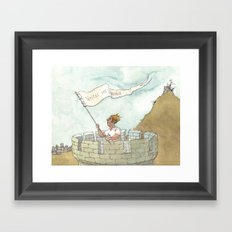 veritas vos liberabit Framed Art Print