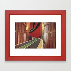 Untitled | A collaboration with Jesse Treece Framed Art Print