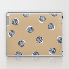 Mixed Dots - in Cocoa Laptop & iPad Skin