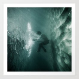Underwater Portal Art Print