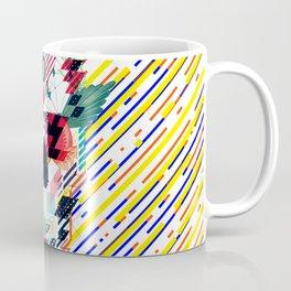 Abstract Skull Coffee Mug