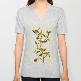 Birds & Plants Unisex V-Neck