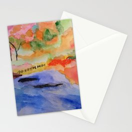 White River Fall Stationery Cards