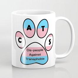 Cis-people Against Transphobia (CATS) Coffee Mug
