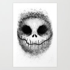 Bone Daddy aka Jack Art Print