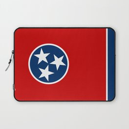 State flag of Tennessee - Authentic version Laptop Sleeve