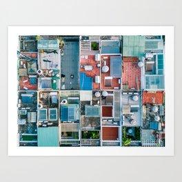 Vietnam sky view Art Print
