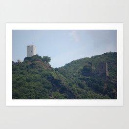 The Fighting Castles Art Print