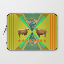 cow's reflexion Laptop Sleeve