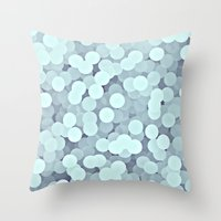 moon phase Throw Pillows featuring Phase by Inclines