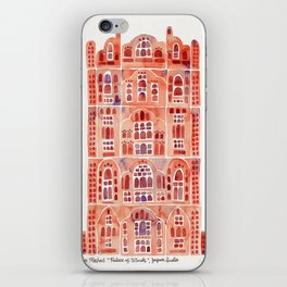 Hawa Mahal – Palace of the Winds in Jaipur, India iPhone Skin