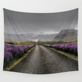 Church and nature Wall Tapestry