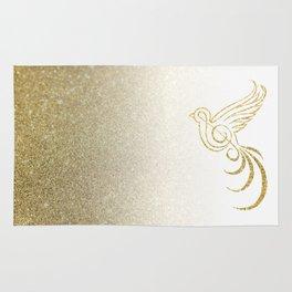 Golden Songbird Rug