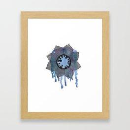 Winter Bloom Framed Art Print