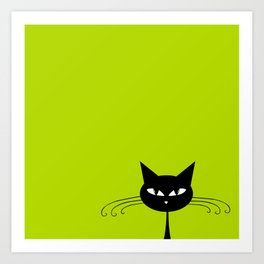 Catz #01 Art Print