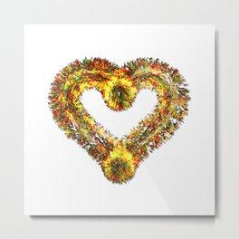 magma heart Metal Print