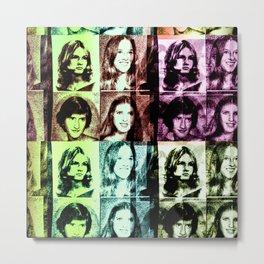70s Metal Print